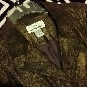 Bronze finish jacket